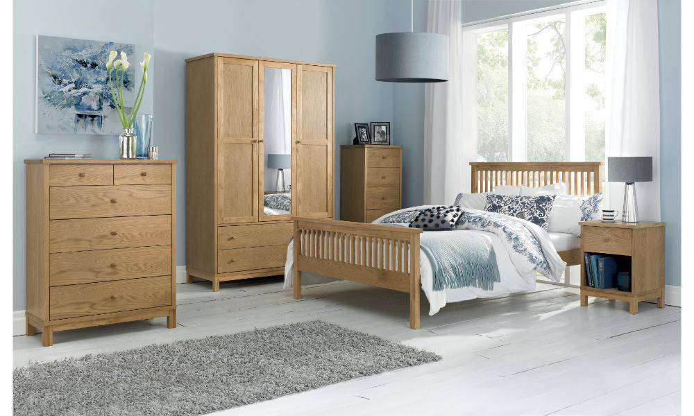 coytes atlanta oak bedroom furniture