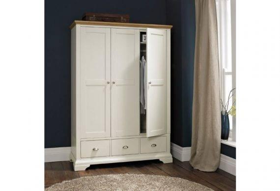 Soft Grey and Oak Bedroom Furniture