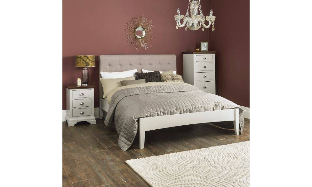 coytes hampstead soft grey walnut bedroom furniture