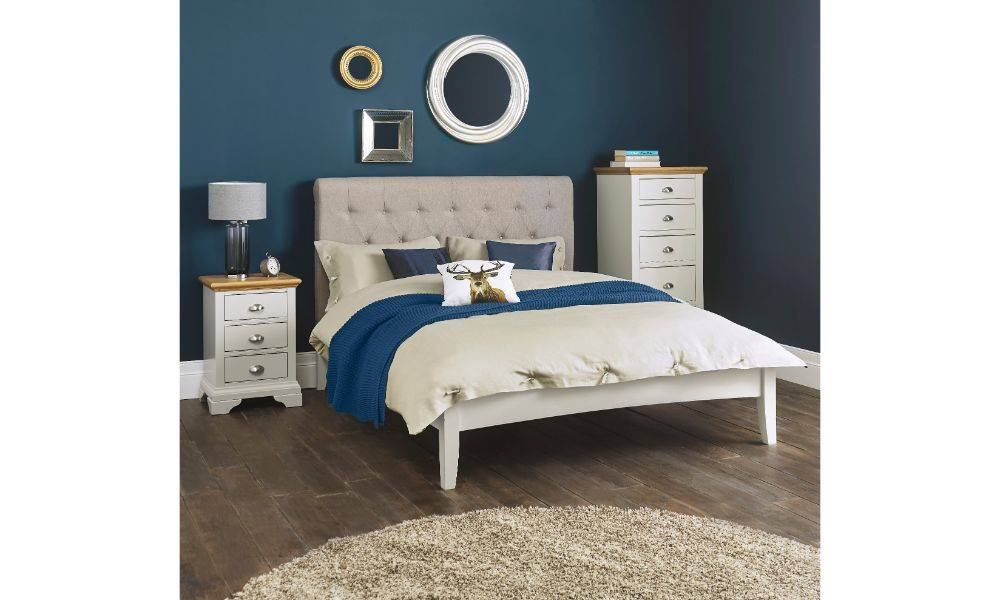 Coytes Hampstead Soft Grey Amp Oak Bedroom Furniture