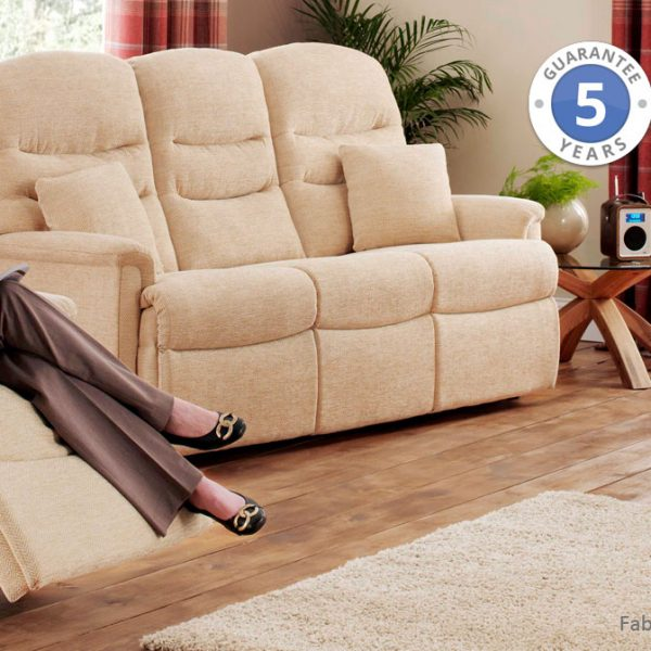 fabric sofa suite with recliner. This Pembrook sofa range is available at our Burton on Trent store