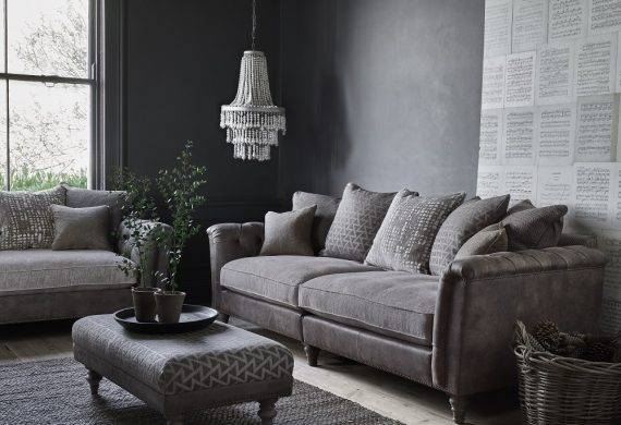 Discovery fabric sofa suite available at our Burton on Trent furniture showroom