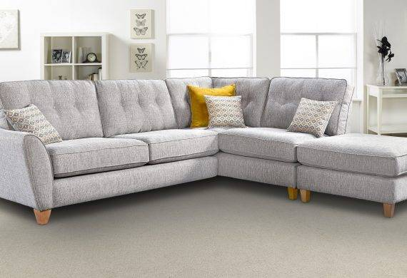 Ashley-Corner-Roomset corner sofas in Swadlincote from Coytes Furniture showroom