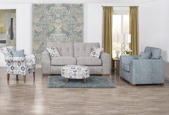 The Kennedy two seater - part of the corner suite from Coytes in Burton on Trent