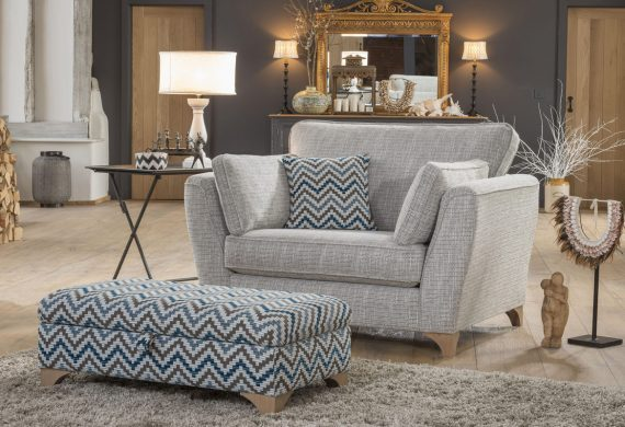 The Sullivan fabric sofa / suite
